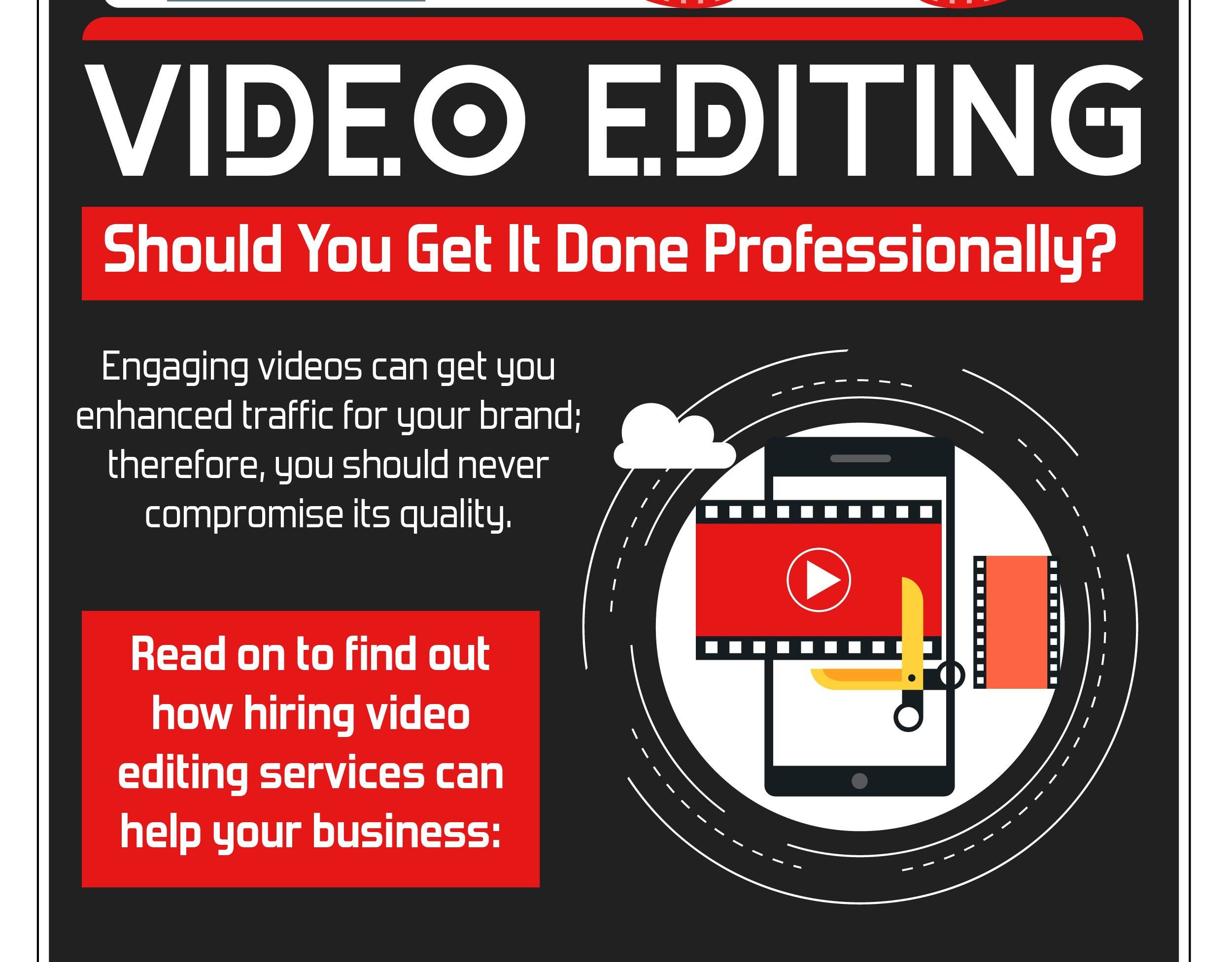 Video Editing – Should You Get It Done Professionally?